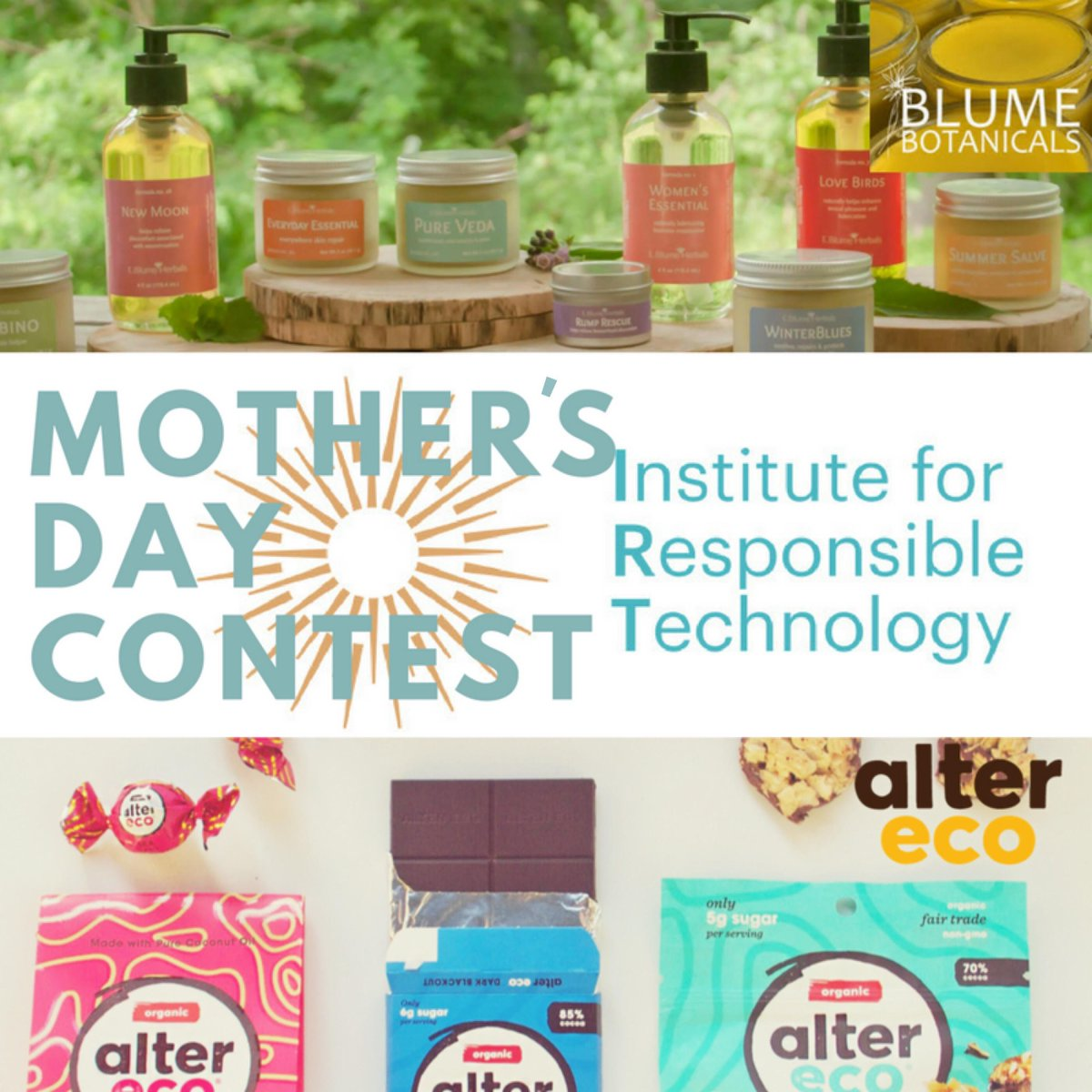 Mother's Day Giveaway: Enter to win organic chocolates and pampering for your mom this Mother's Day. https://bit.ly/2KBgLOw  #MothersDay #MothersDayGifts #foodie #organic