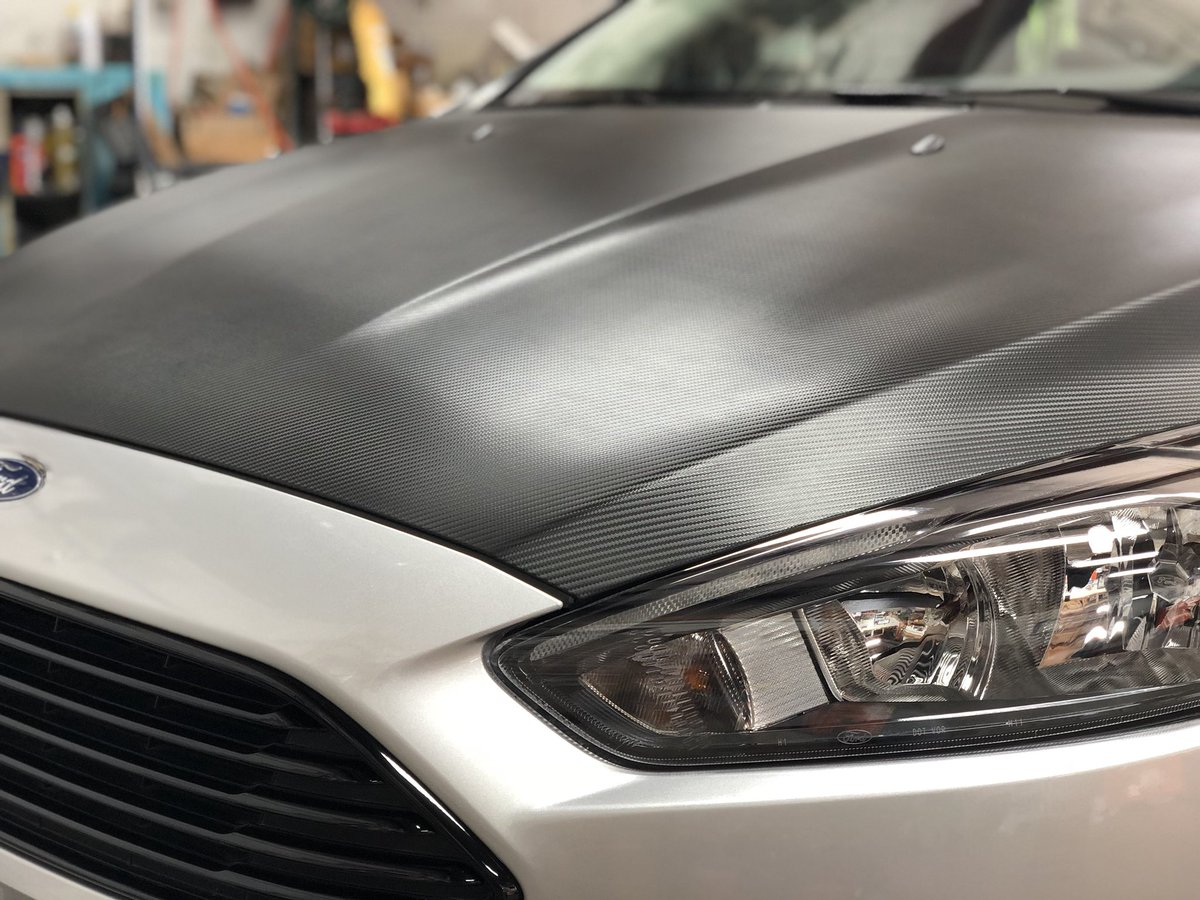 Rob The Wrapper On Twitter Carbon Fiber Hood Wrap On One