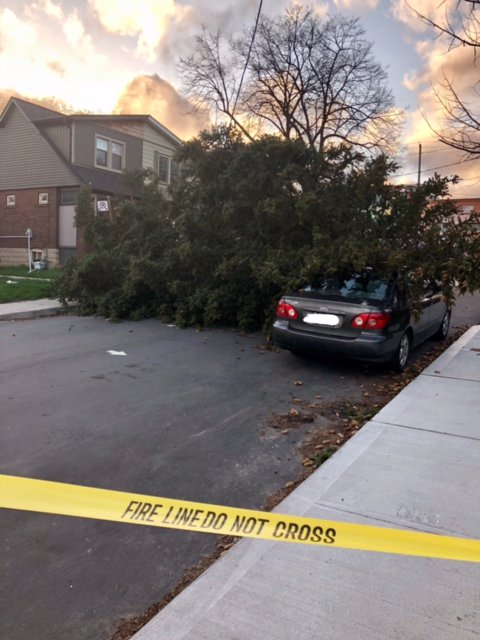 Fierce windstorm leaves 300 000 customers without power in Ontario, Canada DcZVfEJWsAIx8Es