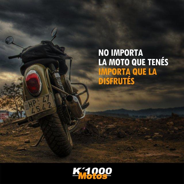 K1000 Motos On Twitter Una Frase Para Los Que Llevan La