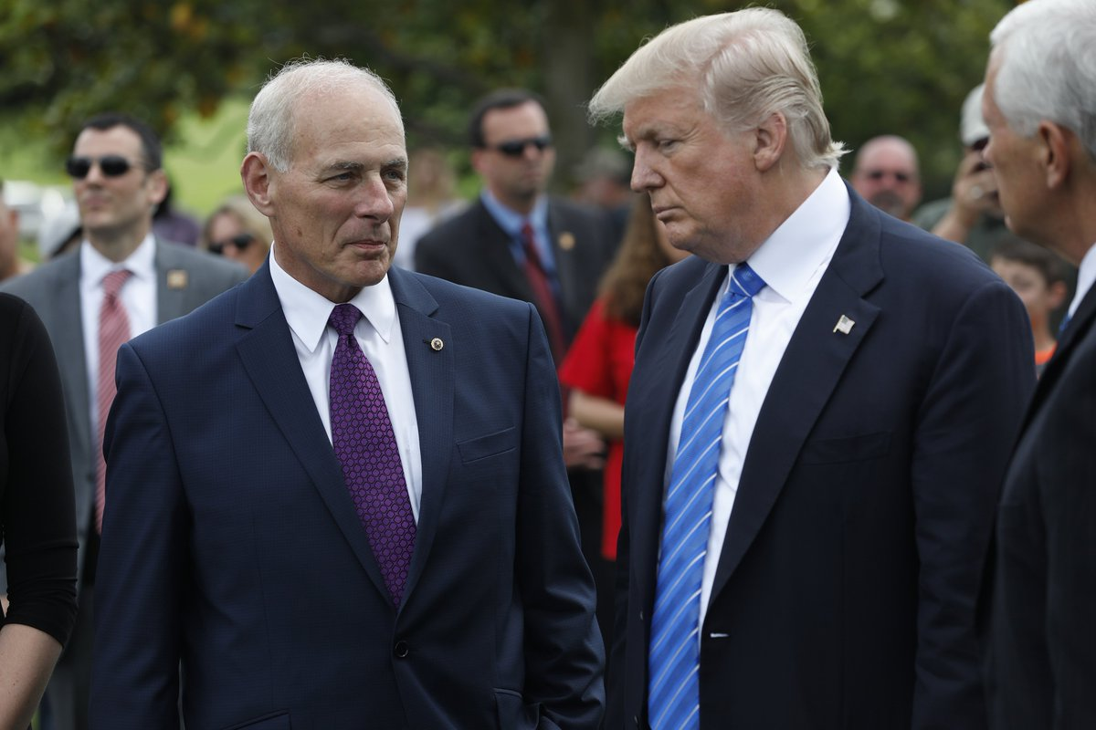 John Kelly Expected To Step Down As White House Chief Of Staff, WSJ Reports