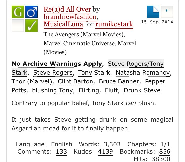 Fat Ass Tony Stark on Twitter: