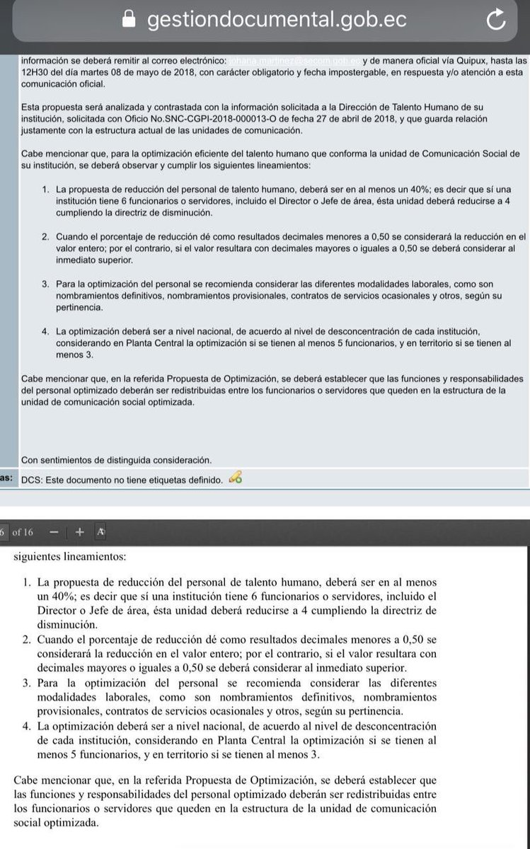Twitter पर Amauri Chamorro Comunicado Interno Ordena