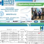 Image for the Tweet beginning: Stop by Booth #413 @NJWEA