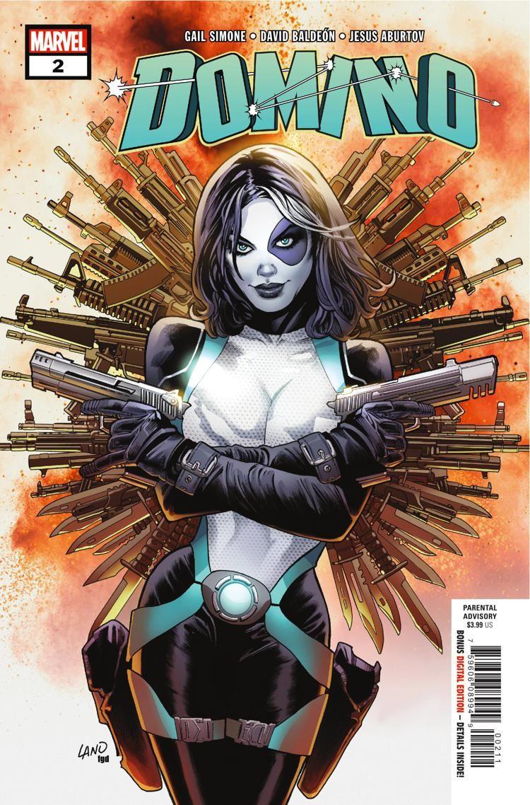 Image result for marvel comics domino