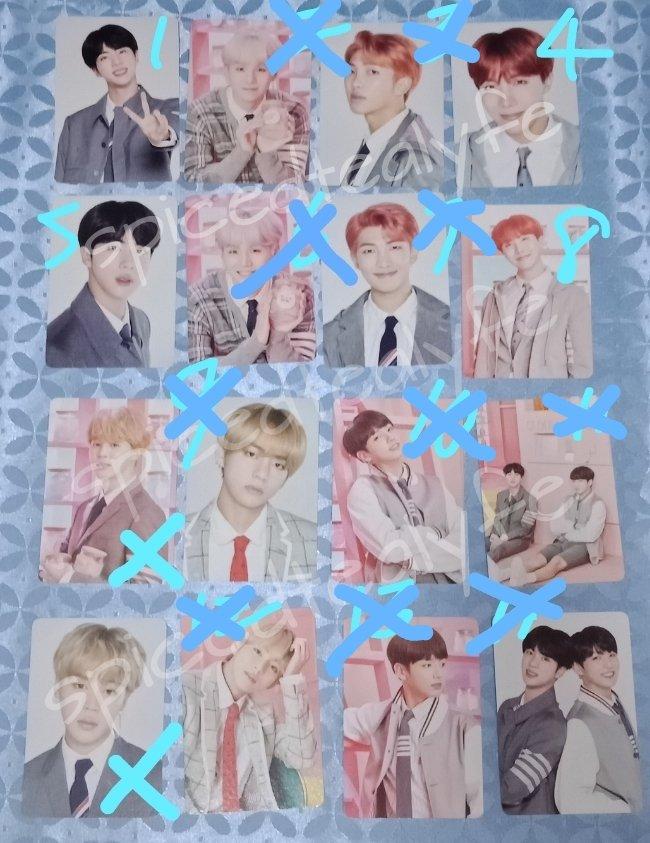 WTS] BTS 4th Muster Mini PC MYR20 Available: Jin #1, #5 J