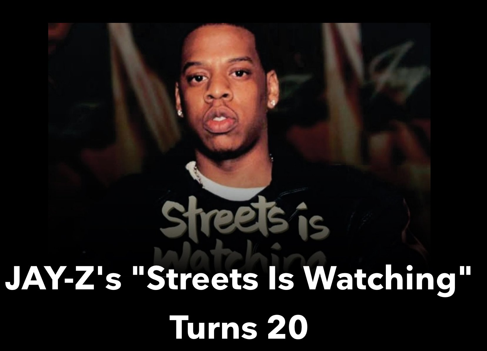 Watch! #StreetsIsWatching https://t.co/n9rGK6wQr9 #TIDAL https://t.co/LvuiY9jWyw