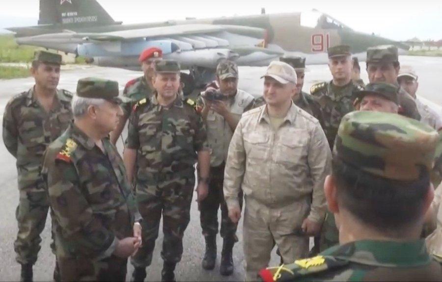 تعرف على النسخه الاحدث من مقاتلات Su-25 ..........المقاتله Su-25 SM3 Dc_78dzXkAASxEr