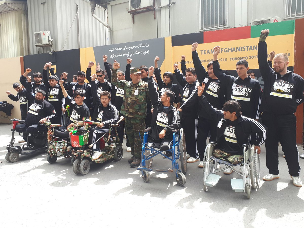 Wounded Afghan warriors to participate in 2018 Sydney Invictus Games khaama.com/wounded-afghan…