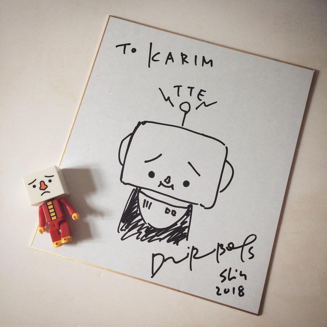 Thank you Kitai San @devirobo for your autograph, i love TOFU OYAKO! #tofuoyako #トーフオヤコ #豆腐人 #北井真一郎 #shinichirokitai #thankyoukitaisan #autograph #sketching #devilrobots #thailandtoyexpo #thailandtoyexpo2018 #tte #tte2018 #designertoy #softvinyltoy #arttoy https://t.co/et9WdYZPsd