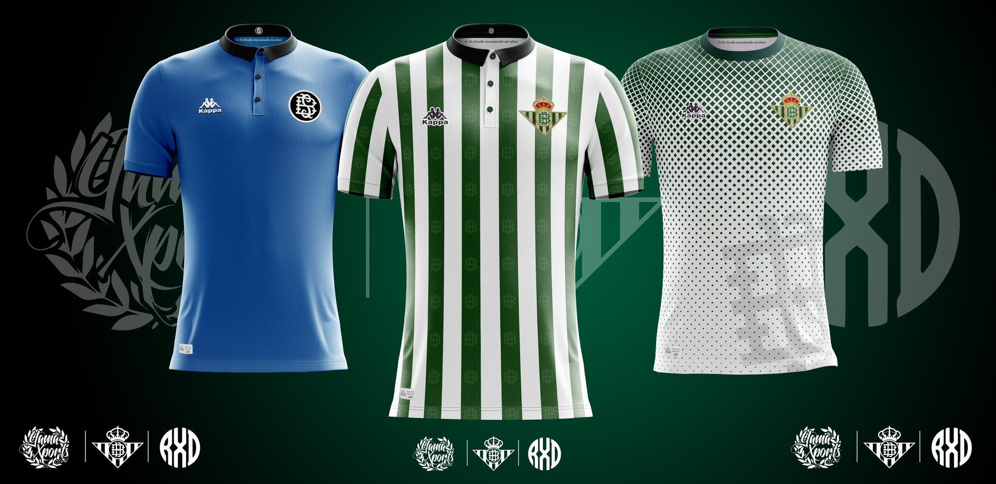 equipacion Real Betis nuevas