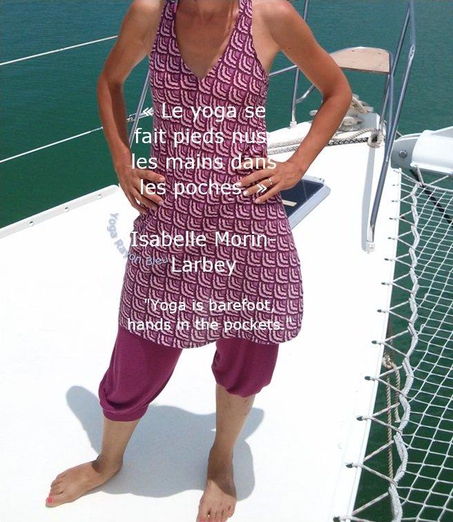 "« Le yoga se fait pieds nus, les mains dans les poches. » Isabelle Morin-Larbey &quot;Yoga is barefoot, hands in the pockets."" Photo #YogaRayonBleu 2013 Pralin Seychelles #yoga #yogafrance #yogainspiration #isabellemorinlarbey #ecolefrancaisedeyoga #Fney   https:// yogarayonbleu.wordpress.com/2018/05/12/isa belle-morin-larbey-presidente-de-la-fney-formatrice-denseignants-de-yoga-a-lefy/ &nbsp; … <br>http://pic.twitter.com/WbE7MCjWMG"