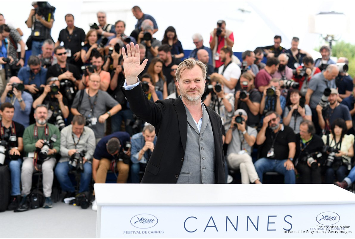 Christopher Nolan au festival de Cannes
