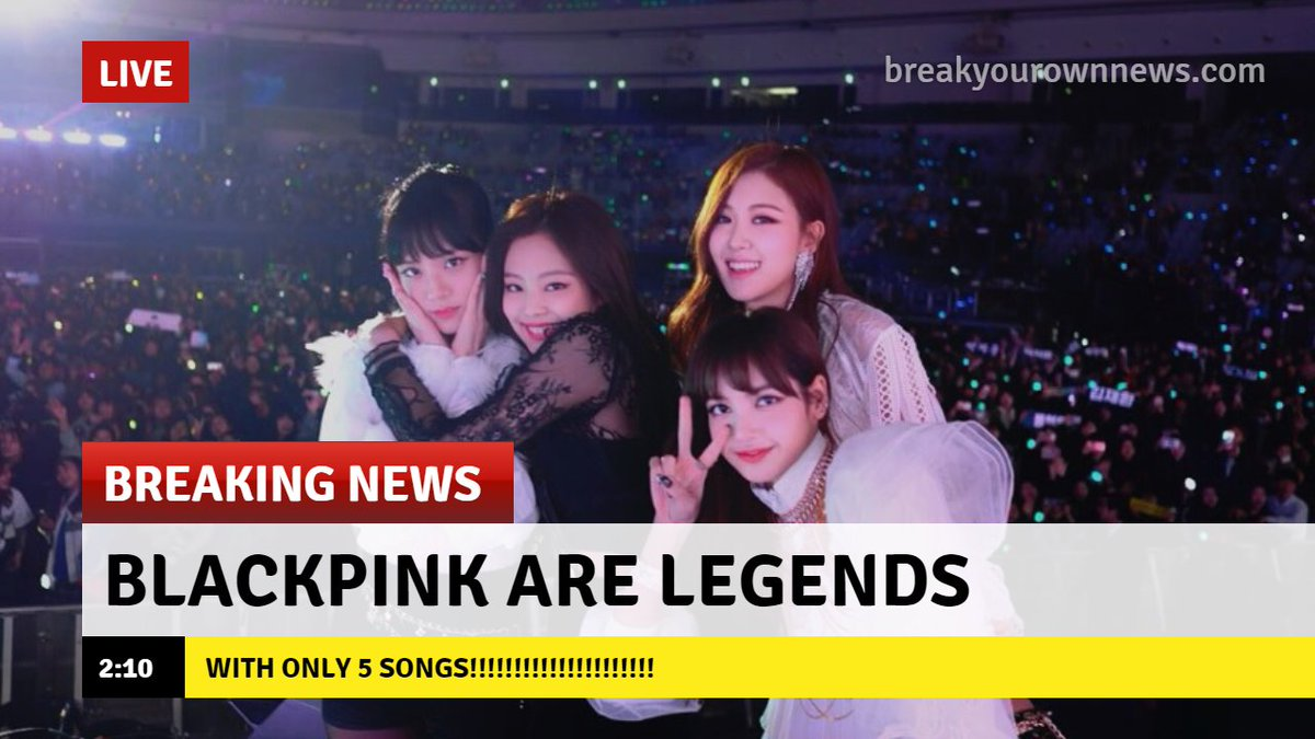 BLACKPINK Charts on Twitter: