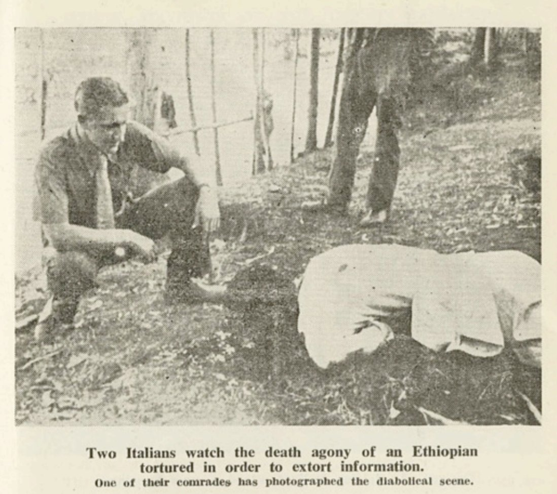 """Zecharias Zelalem on Twitter: """"War crimes by the aspiring colonizers were  common throughout the Italian invasion & subsequent occupation of #Ethiopia.  Ethiopian figures for the number of ppl killed by Italian troops"""