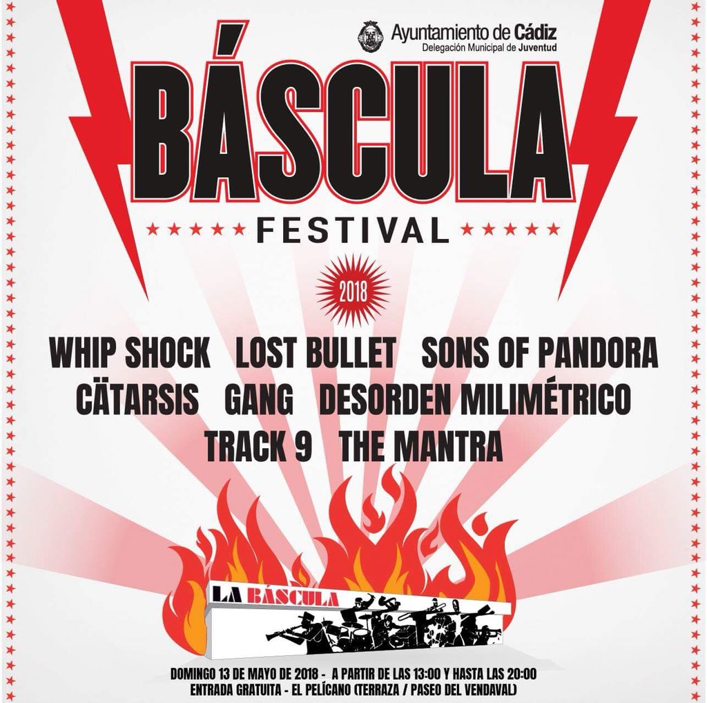 El Pelícano Músicafé On Twitter El Báscula Festival Ya
