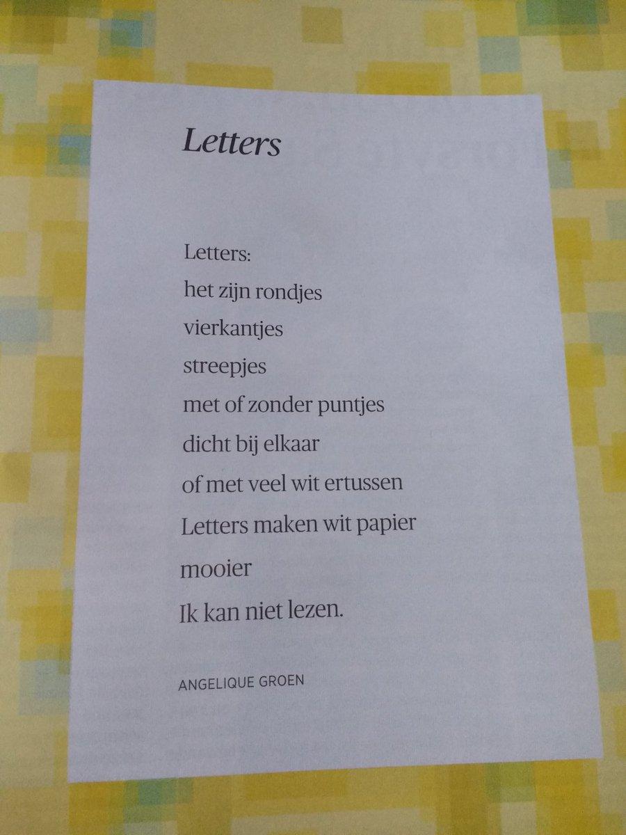 ο χρήστης Margo Van Rheenen στο Twitter Zaterdagochtend