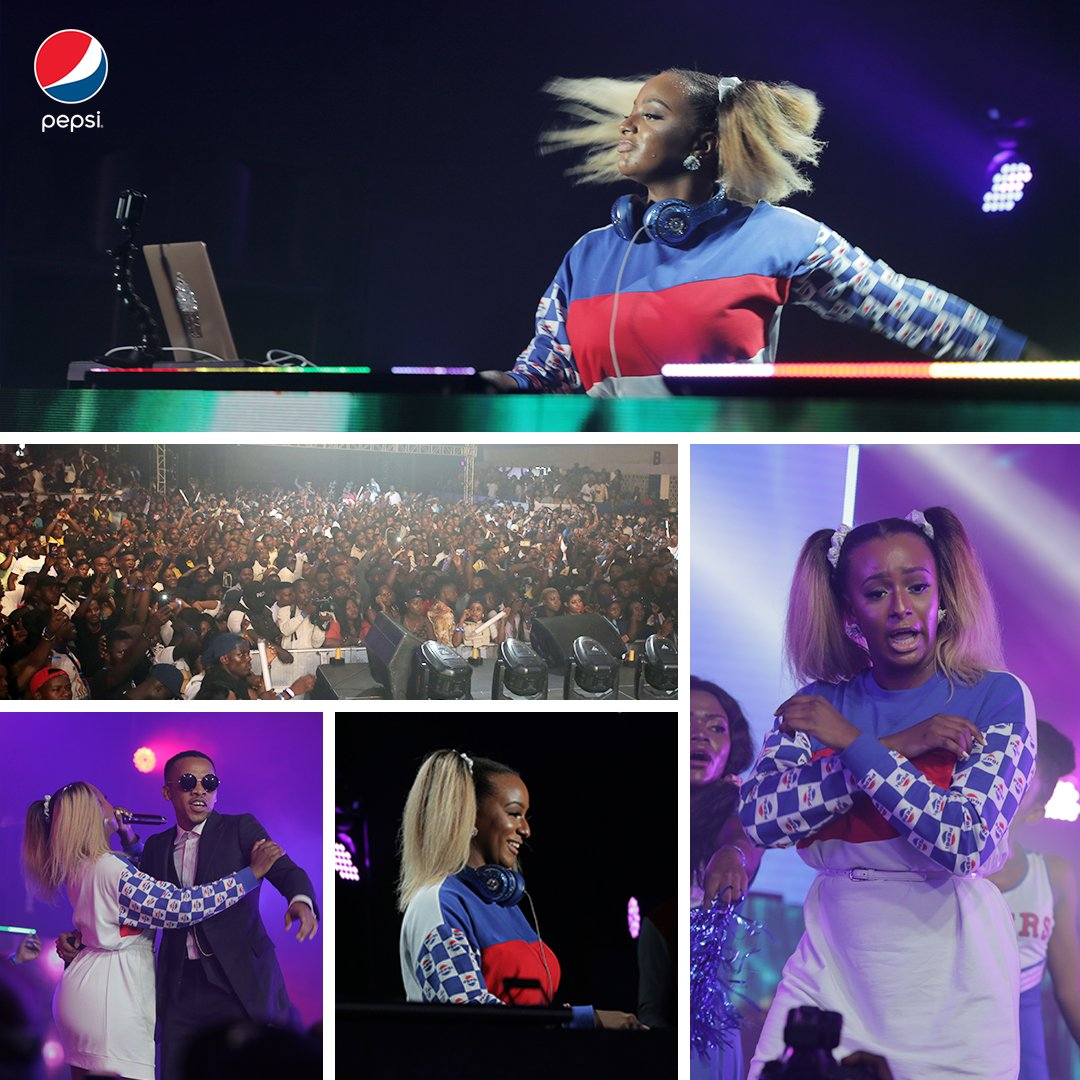 To cuppy this tune!  #PepsiLituation #RefreshTheMix <br>http://pic.twitter.com/TV72HyFYWd