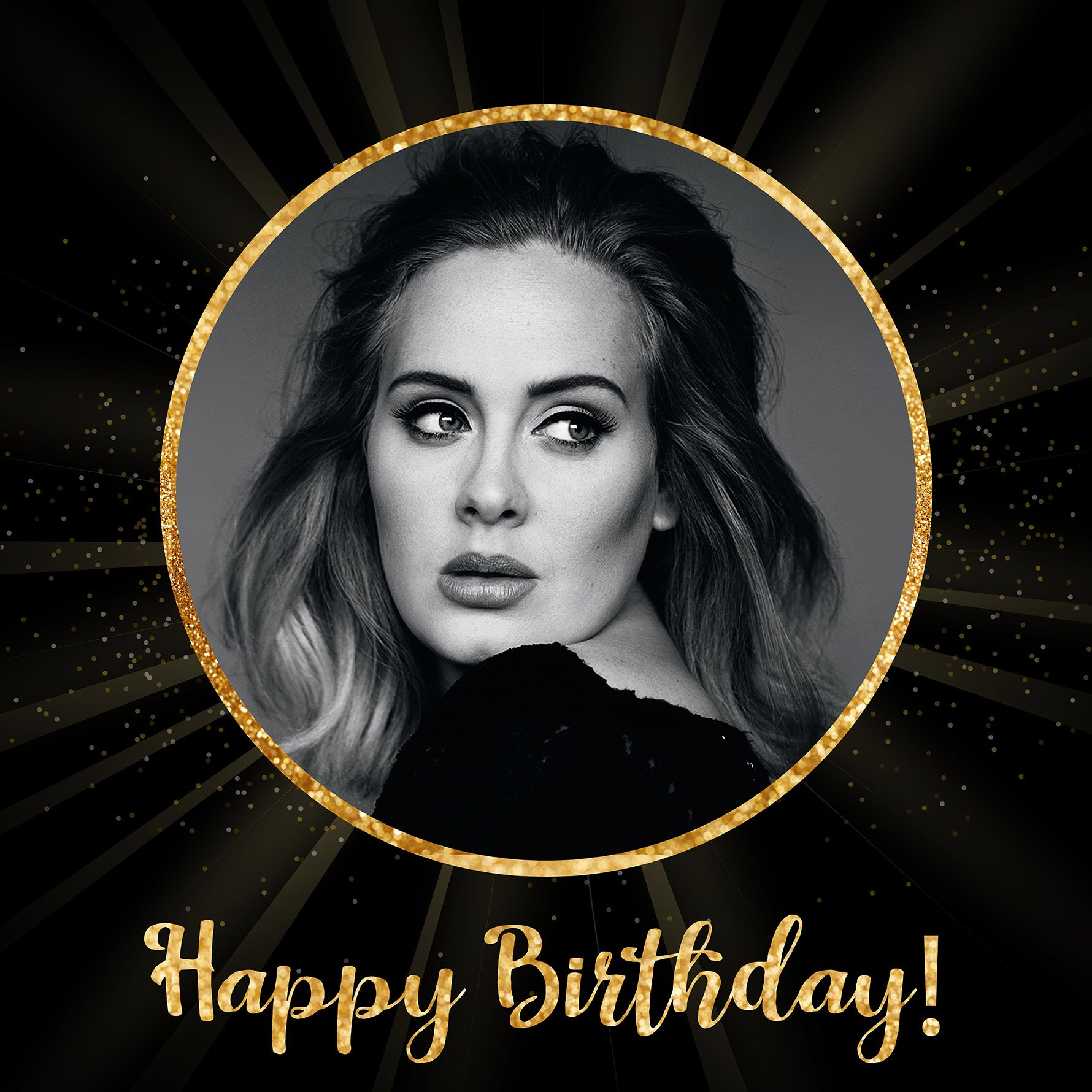 Happy Birthday to the beautiful and talented Adele!
