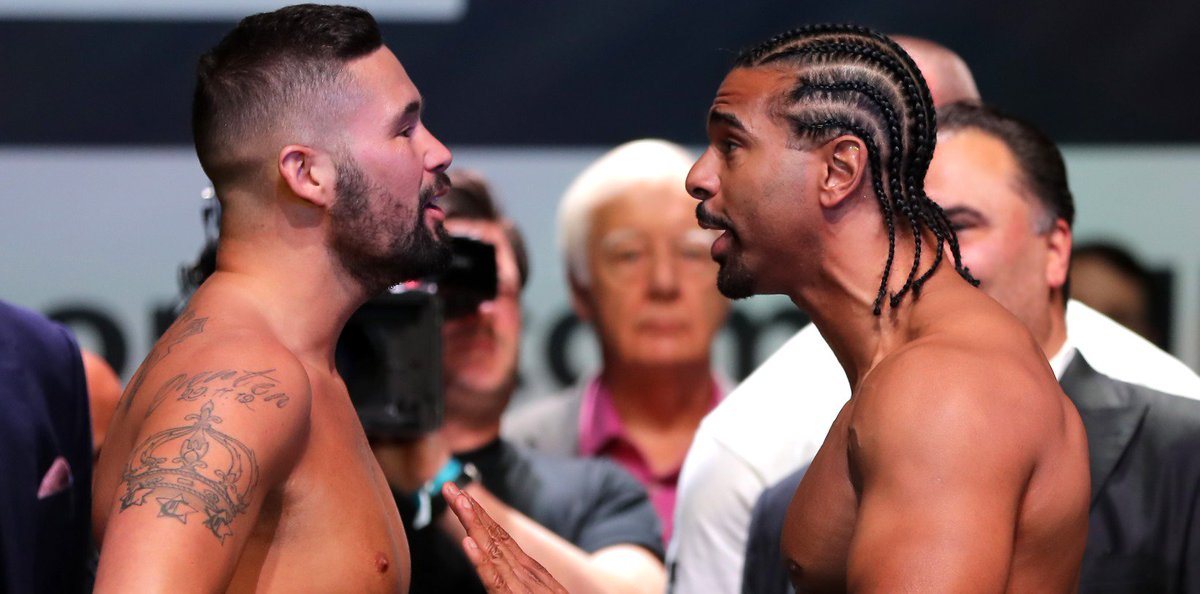 Who would you *like* to see win the rematch? RT – Tony Bellew ❤ – David Haye