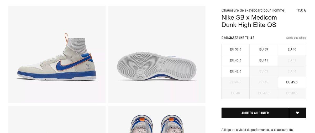buy popular 052ae 914fd ... Medicom Toy x Nike SB Dunk Hi Elite  Be rbrick   FR http   tinyurl.com y84juvep UK http   tinyurl.com y9efxvwu DE http   tinyurl.com y7agsbha  ...