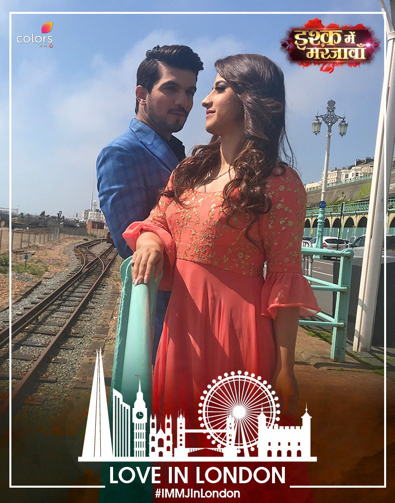 RT @ColorsTV: RT if you are super excited to watch the #IshqMeinMarjawan: #LondonSpecial! @Thearjunbijlani https://t.co/kyiPecMFvT