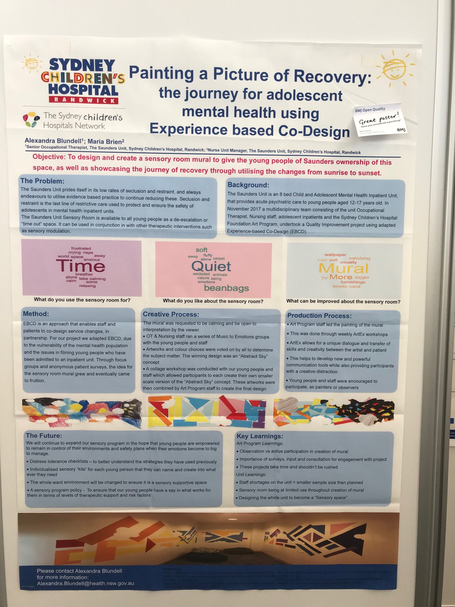 Childrens Healthcare Australasia On Twitter With Co Design Partnering With Patients A Key Theme Quality2018 This Is A Great Practical Example Of Co Design By The Team Providing Mental Health Care To Young
