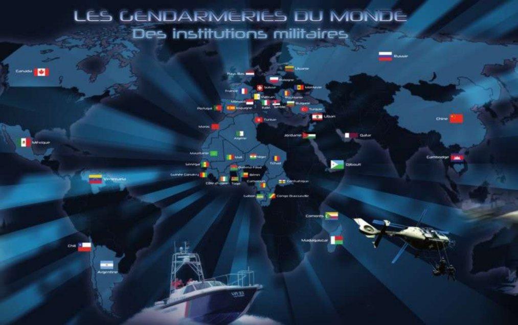 gendarmeries hashtag on Twitter