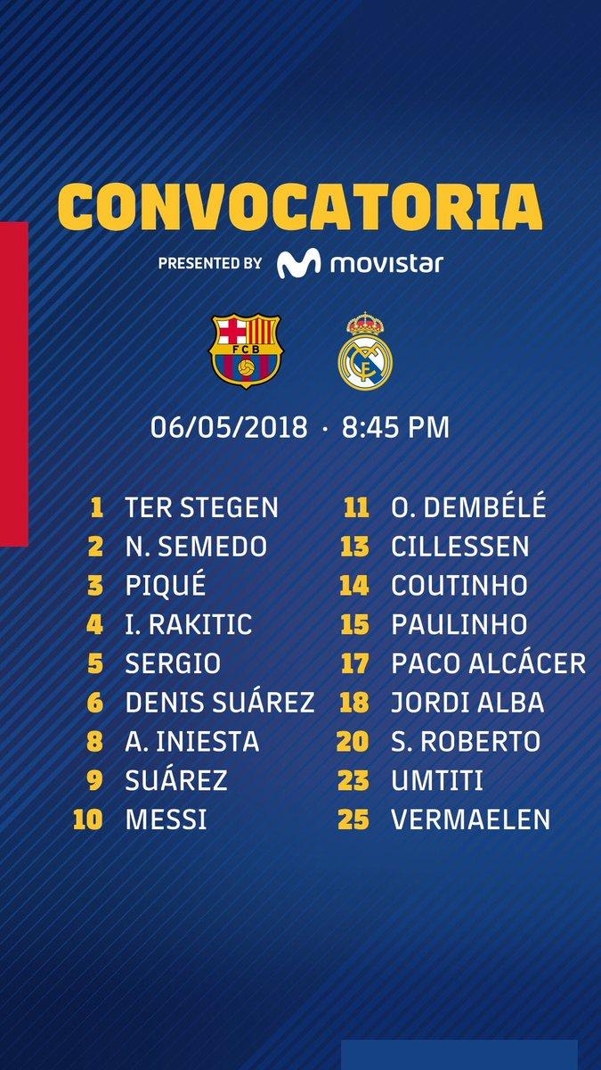 Barcelona Vs Real Madrid   La Liga 2017-18   Matchday 35 Dcc6TPMX0AAOGmW