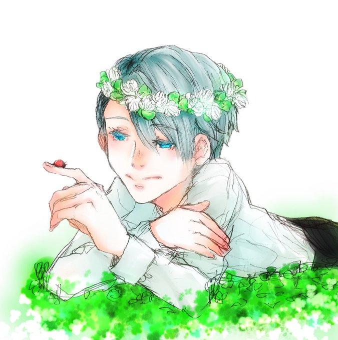 春のヴィクトル花冠祭りのtwitterイラスト検索結果