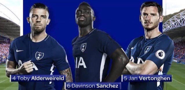 It feels great to see this as our back three again at long last. Will Toby be here next season?  #Coys #THFC