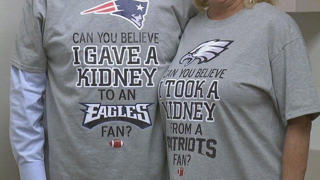 Eagles fan gets life-saving transplant from Patriot fan https://t.co/oYyaSdzU3r -- @FOX5Atlanta https://t.co/U7oeQDaBk1