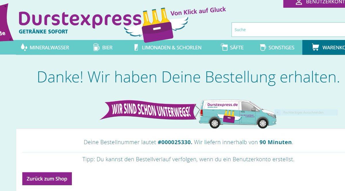 durstexpress hashtag on Twitter
