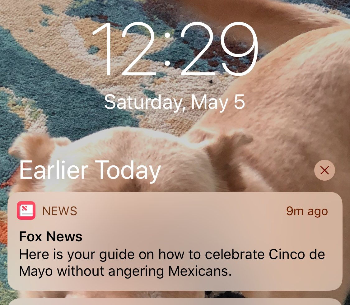 .@foxnews is sending us push notifications on how not to be racist. Hmmmm...