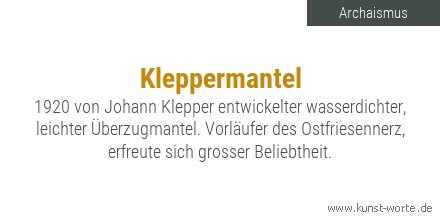 Video kleppermantel Before you