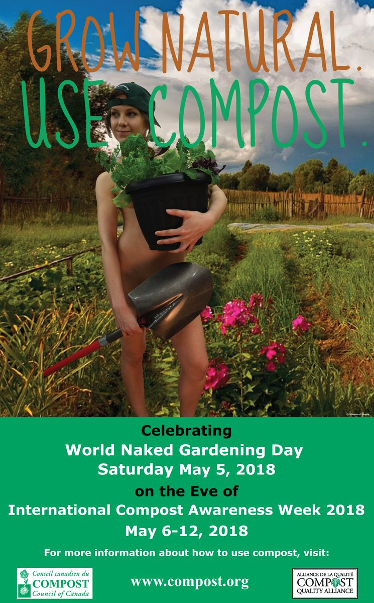 Enchanting Naked Gardening Day Photo - Beautiful Garden ...