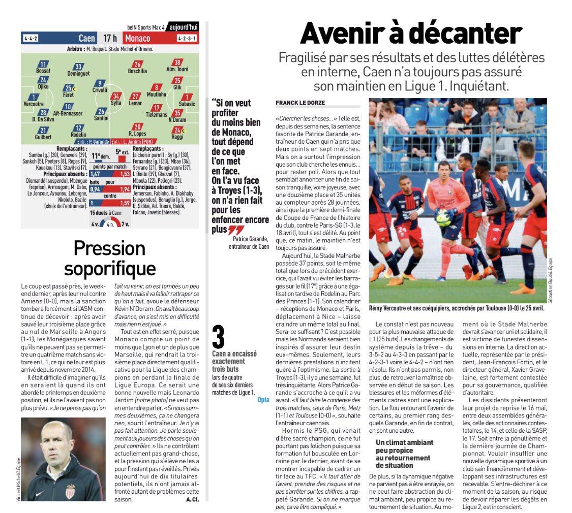 [36e journée de L1] SM Caen 1-2 AS Monaco Dcd8FX6WAAATmjQ
