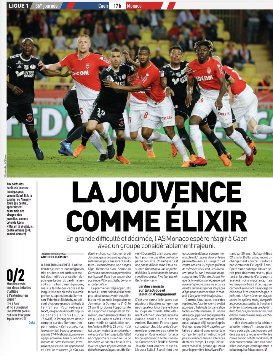 [36e journée de L1] SM Caen 1-2 AS Monaco Dcd8FXtWAAEYB5W