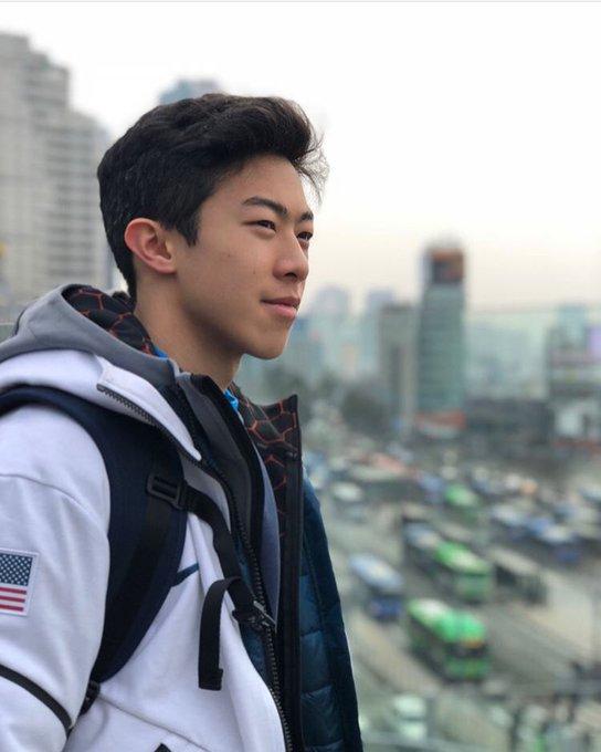 Happy birthday to my favorite human Nathan Chen