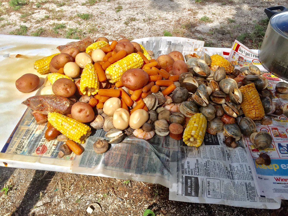 Tuddle On Twitter I Did A Low Country Boil Today For A Group Of People Thesoulbrother Gave Me The Idea Of Putting Boiled Eggs Into The Pot The Eggs Suck Up All