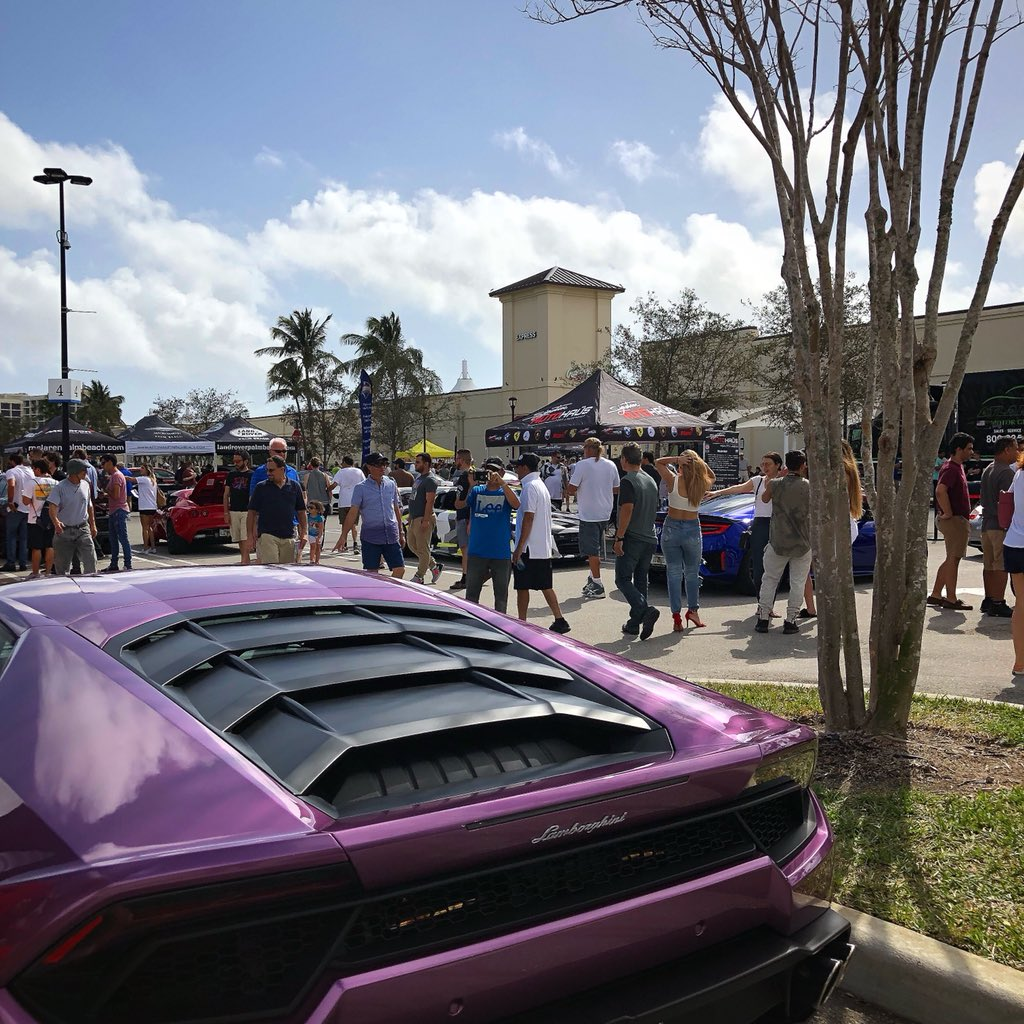 Palm Beach Outlets On Twitter CarsAndCoffeePalmBeach Is Just A - Car show palm beach outlets