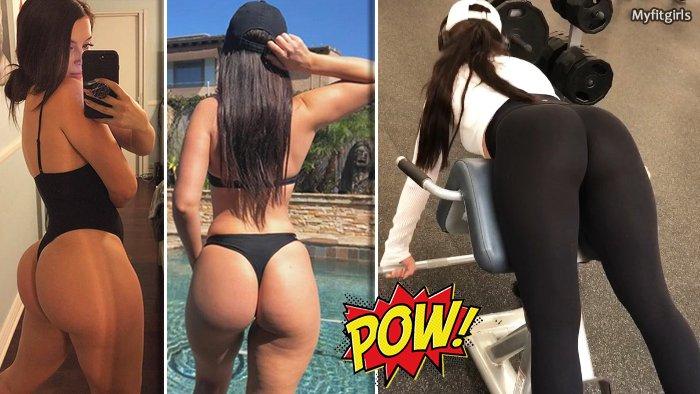 Ebony pussy white panties