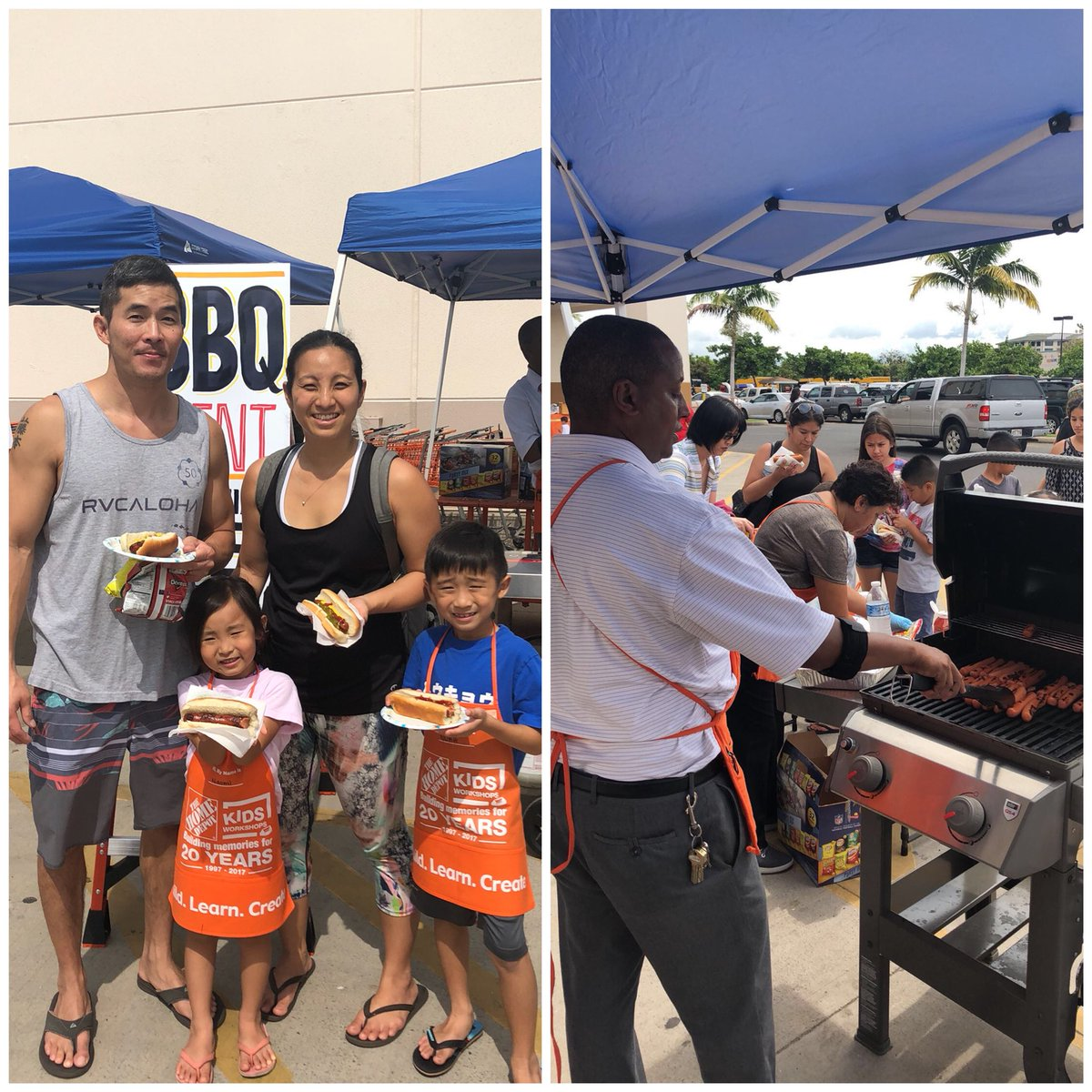 Home Depot Kapolei On Twitter This Is How We Do Grill