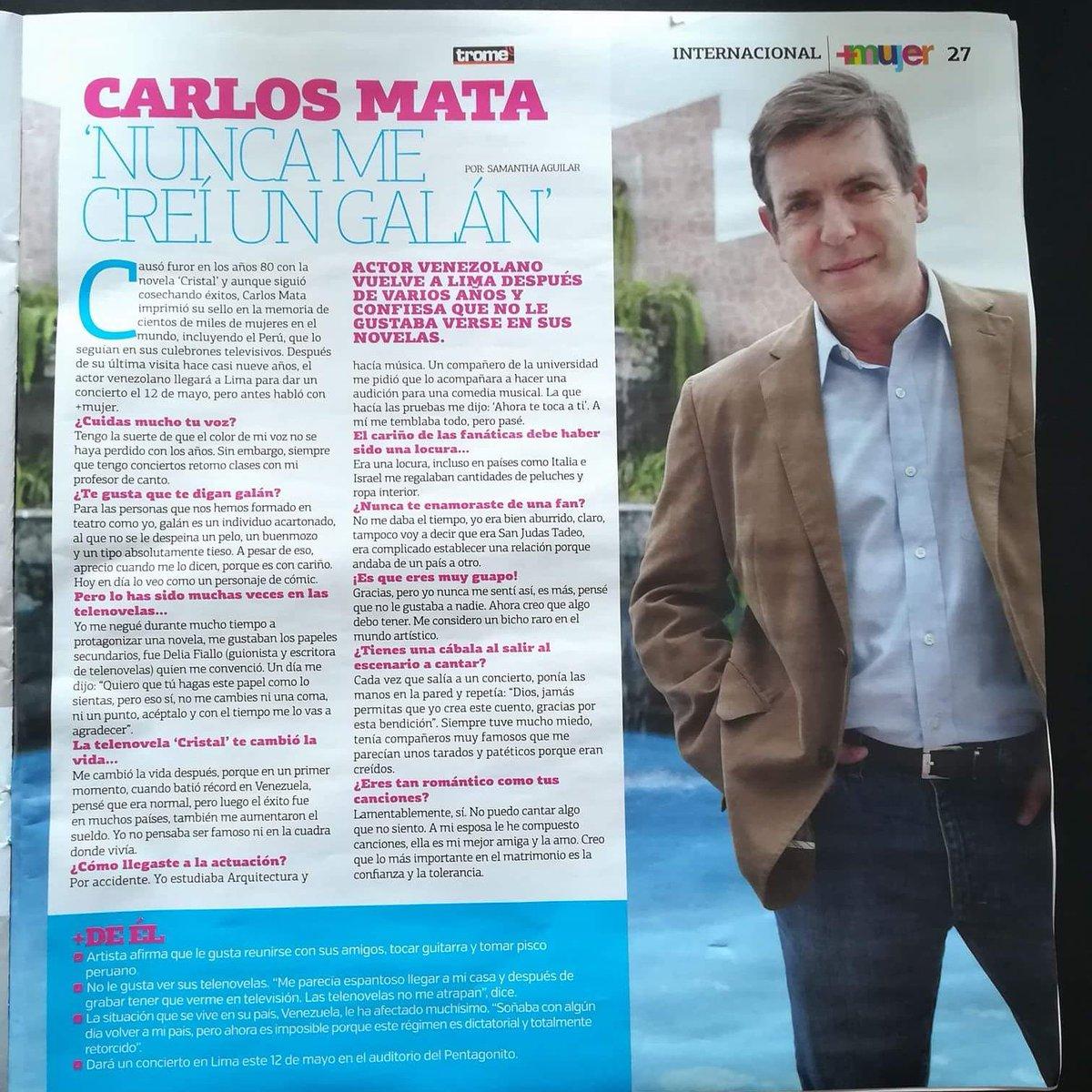 Revista mujer entrevista