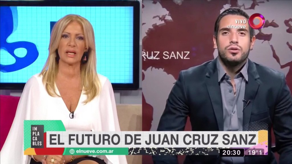 video de juan cruz sanz twitter