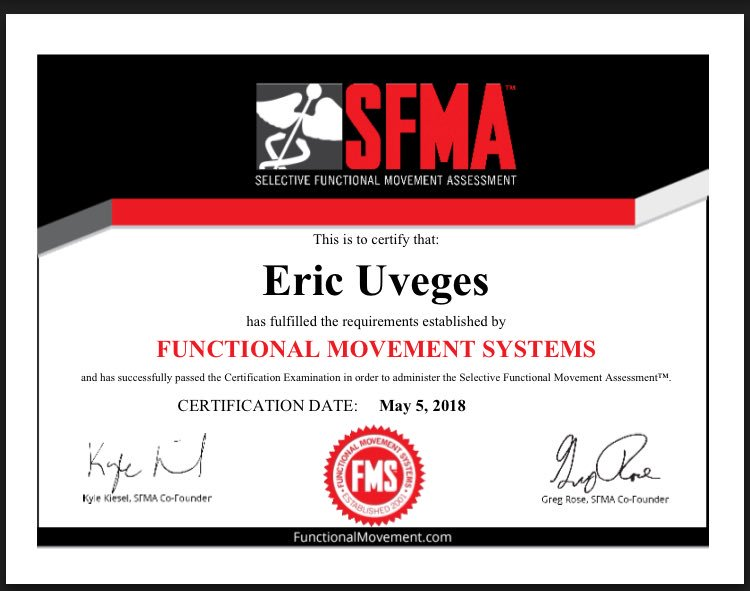 Simply blown away by @FunctionalMvmt #SFMA level one in DC this weekend. Huge thanks to Greg, Ellora, and Michele for sharing their time and knowledge with us! #MoveWell #MoveOften #Kaizen https://t.co/JPMbl6WC8r