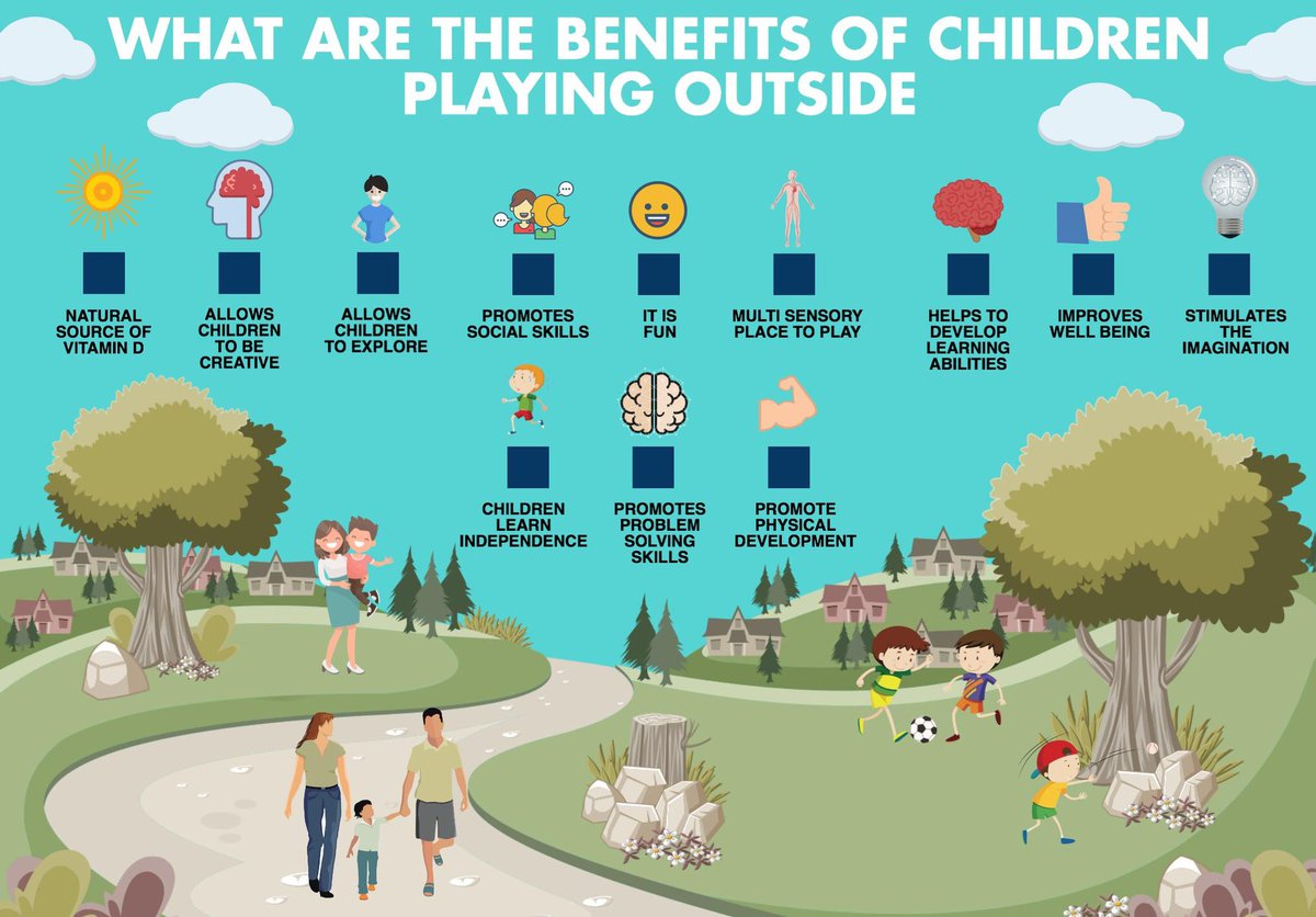 why children should play outside