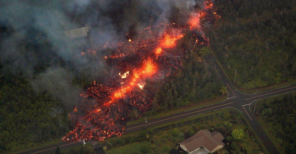 Через виверження вулкана на Гаваях евакуювали понад 1700 жителів