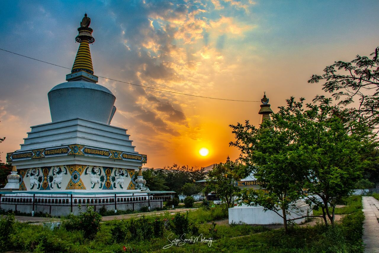 The Stupa at daybreak