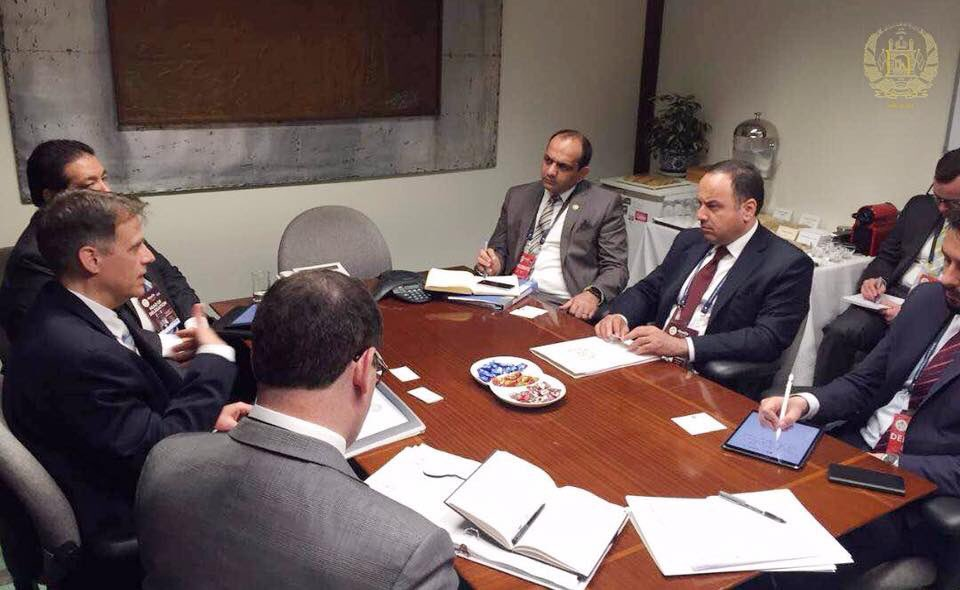 Mr. Robert Kaproth, Deputy Asst Secretary of the US Treasury for Asia & I spoke about Afghanistan's progress on the IMF program, banking sector reforms and stability, the establishment of sectorial operations under state-owned banks. 5/8
